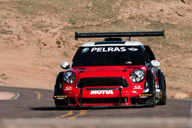 Mini Countryman Pikes Peak Racer Motorsports Racing