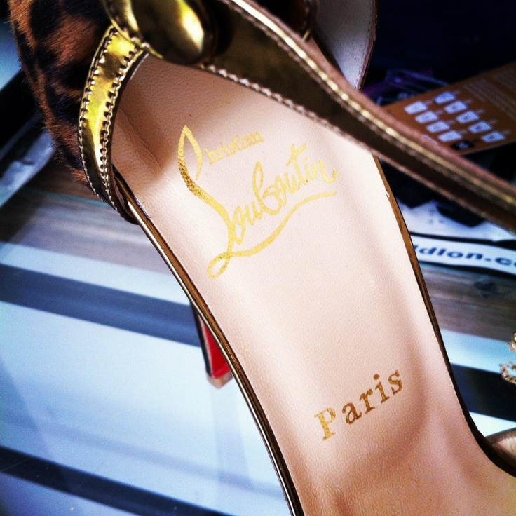 Essential Accessories for Accessories.... Christian Louboutin
