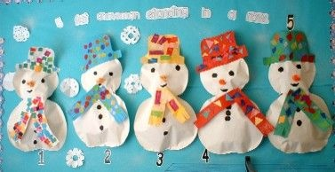 5 Fat Snowmen