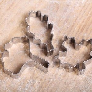 Cookie cutter set- Autumn Leaves / herfstblaadjes