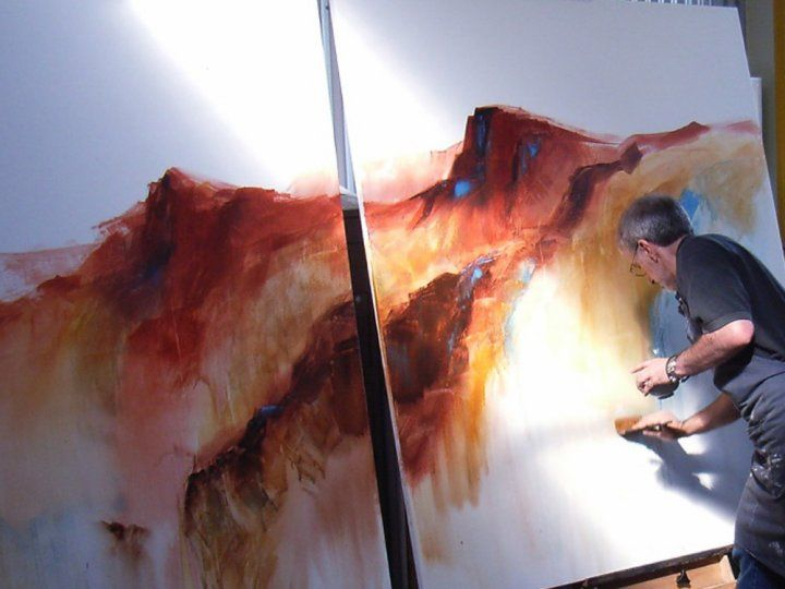 Tony Smibert: About Tony Smibert the master at work, amazing..>>>>