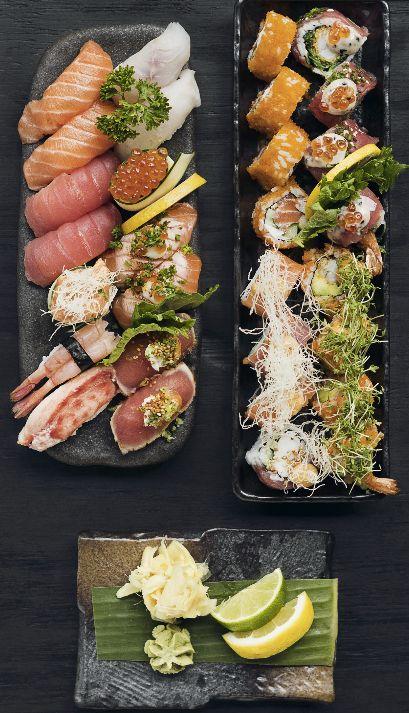 Nu er det snart weekend! :) Kom ind til din Karma Sushi og smag vores douglas menu, der er en perfekt menu til to. God weekend. For booking og takeaway, se www.Karmasushi.dk