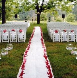 49 best garden wedding ideas images on pinterest wedding wedding ceremony decor outdoor ceremonyoutdoor wedding decorationsoutdoor junglespirit Gallery