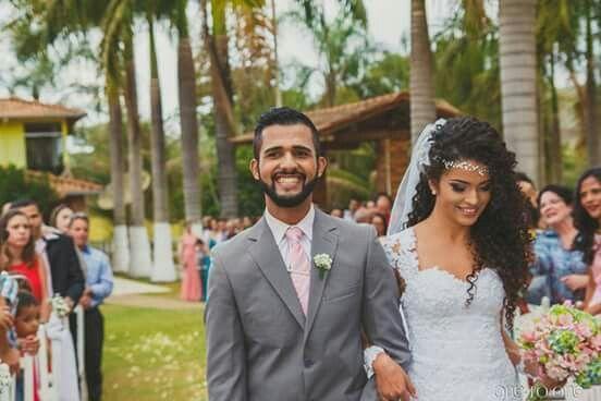 Noiva Cacheada