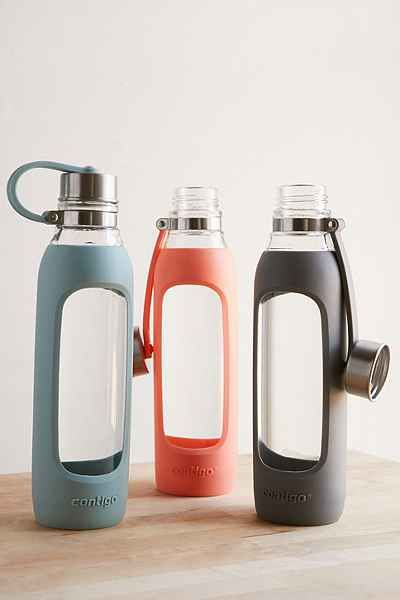 contigo purity glass water bottle urban outfitters bottle and awesome stuff. Black Bedroom Furniture Sets. Home Design Ideas