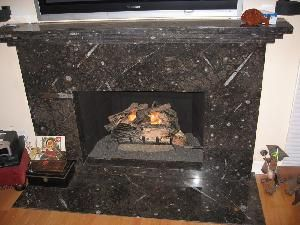 Image Result For Granite Fireplace Surround With Granite Mantel