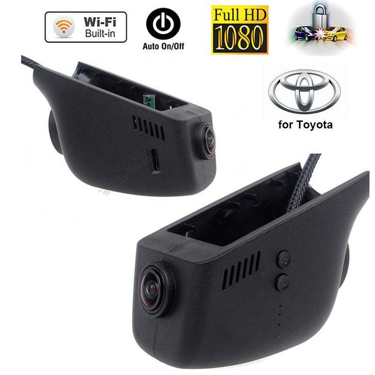 Free shipping!WIFI HD 1080P 12v Car Dashcam Camera For Toyota Venza,Corolla,Yaris,Camry