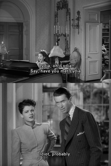 jimmy stewart # ruth hussey # the philadelphia story