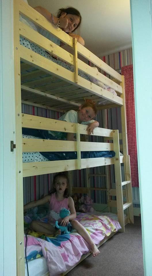 best 20+ 3 tier bunk beds ideas on pinterest | beach style kids