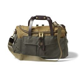 Heritage Sportsman Bag in Otter Green & Tan