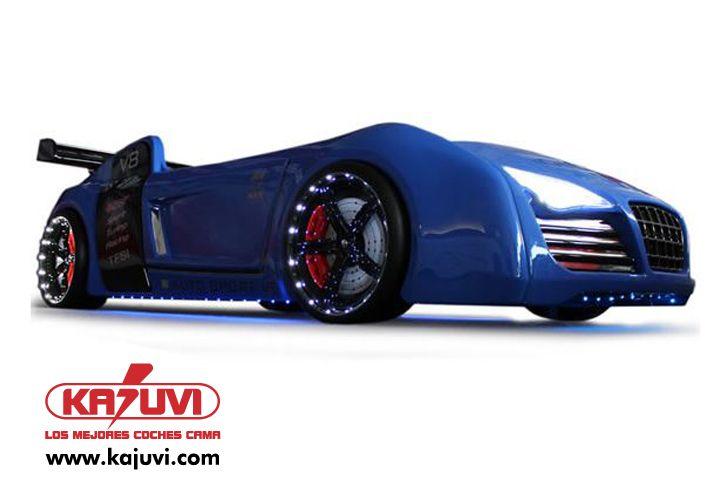 Coche cama V8 Quattro www.kajuvi.com