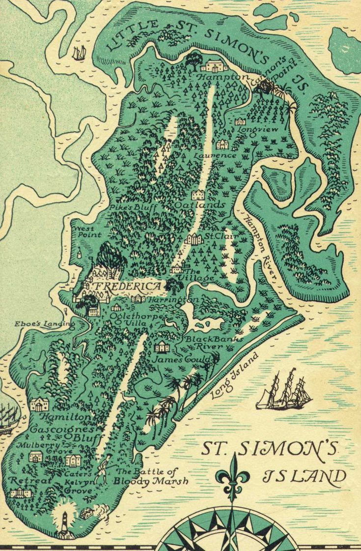 Love it and want to get back: St. Simons Island, Georgia  - one of the Best Vacation spots!