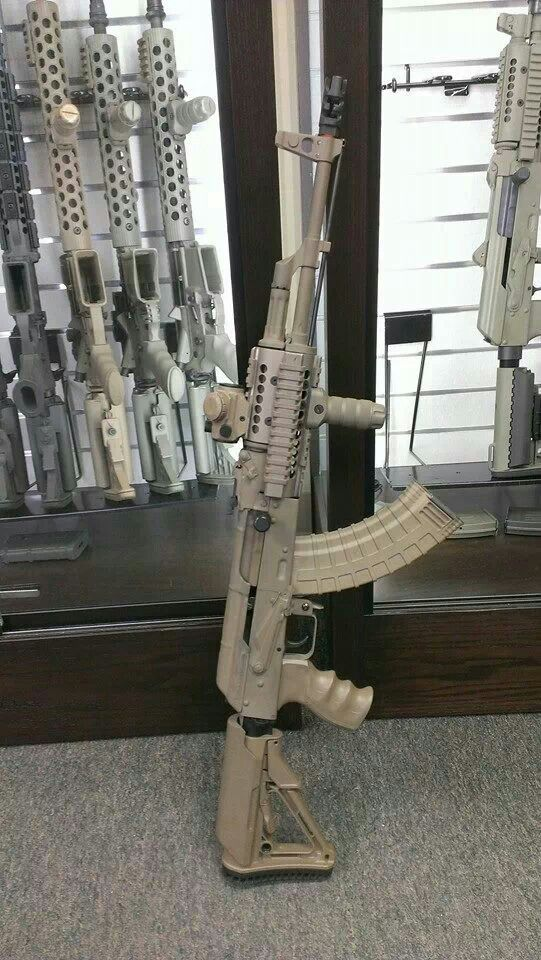 AK47 - now if i was ever gonna buy one, it'd be like this, because this is NICE!