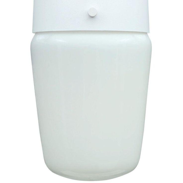 Hampton Bay 110 Degree White Motion-Sensing Outdoor Security Light