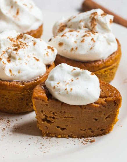 Pie Cupcakes | larry | Pinterest | Impossible Pumpkin Pie, Pumpkin Pie ...