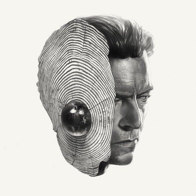 David Bowie by gregthings