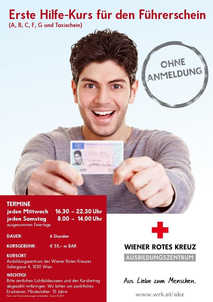 Unsere Erste Hilfe Kurse für den Führerschein starten jeden Mittwoch um 16:30 sowie jeden Samstag um 08:00 Uhr