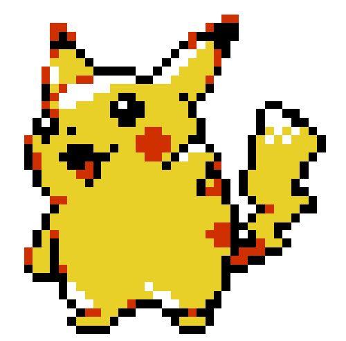 Pixel Pikachu Call Me Geek Pinterest Posts And Pikachu