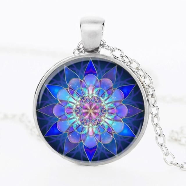 Check this out on my store : NEW Blue Mandala Lotus Glass Henna Pendant Charm Necklace http://www.bodykingdomshop.com/products/blue-mandala-lotus-glass-henna-pendant-yoga-charm-necklace?utm_campaign=crowdfire&utm_content=crowdfire&utm_medium=social&utm_source=pinterest