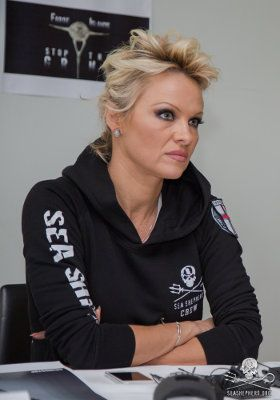 August 1, 2014 Pamela Anderson Arrives in the Faroe Islands to Show Support for Operation GrindStop 2014 The Actress and Animal Activist is Calling for an End to the Brutal Mass Slaughter Known as 'Grindadrap'