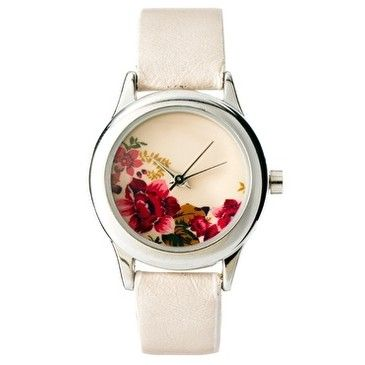 Accessorize Ladies Floral Print Watch at asos.com