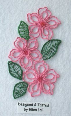 Tatting flowers