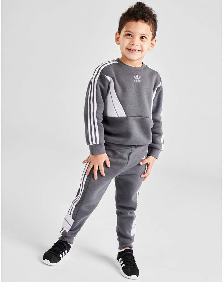 Adidas Kids Toddler And Infant Track Suit Boys Clothes Online Kids Winter Outfits Adidas Kids Boys