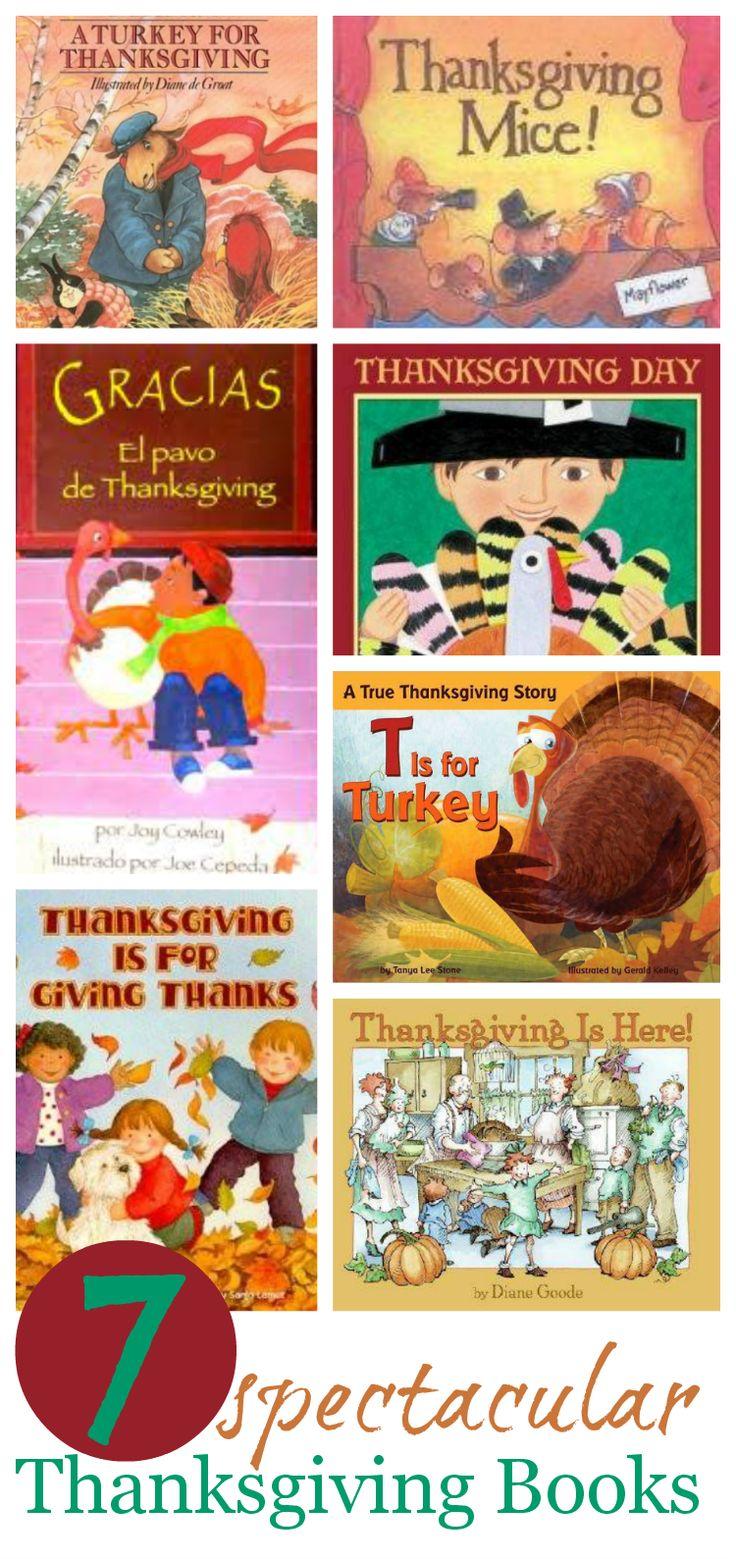 Thanksgiving picture books kids will love #preschool #literacy