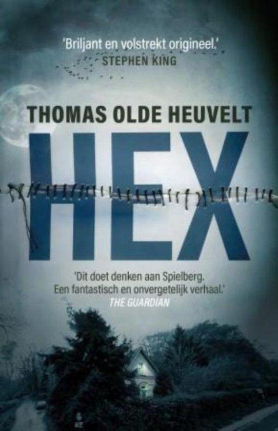 Hex is zeer origineel verhaal dat wordt vergeleken met boeken van Stephen King. Hex is op persoonlijke wijze gerecenseerd door Antoinette. #recensie