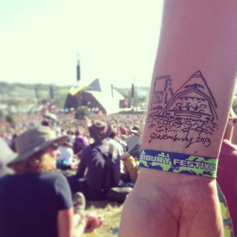 """Pics from the (_è""""-""""é&'""""-)=""""é)&!!!  that got tickets for glastonbury 2013 :(... they are good"""