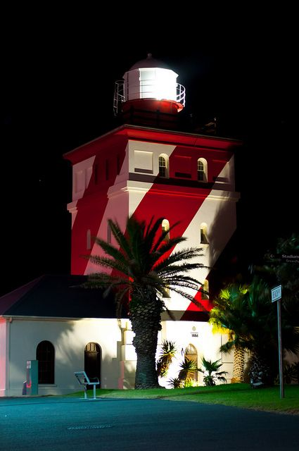 Green Point Lighthouse. Cape Town South Africa. First lit in April 1824.