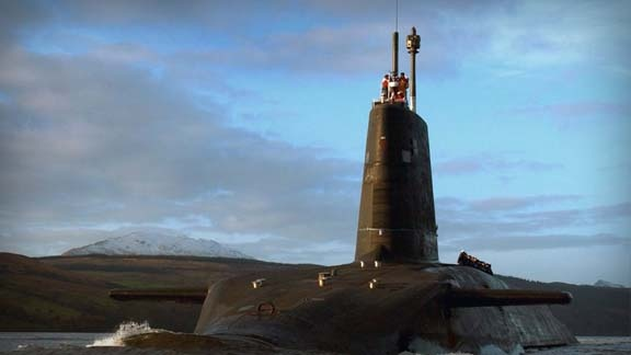 The V-bombers were the original British Nuclear Deterrent in the 1950's, and have since been replaced by Trident. HMS Vanguard was the first of four submarines to be launched, carrying out the first Trident missile test in 1994.