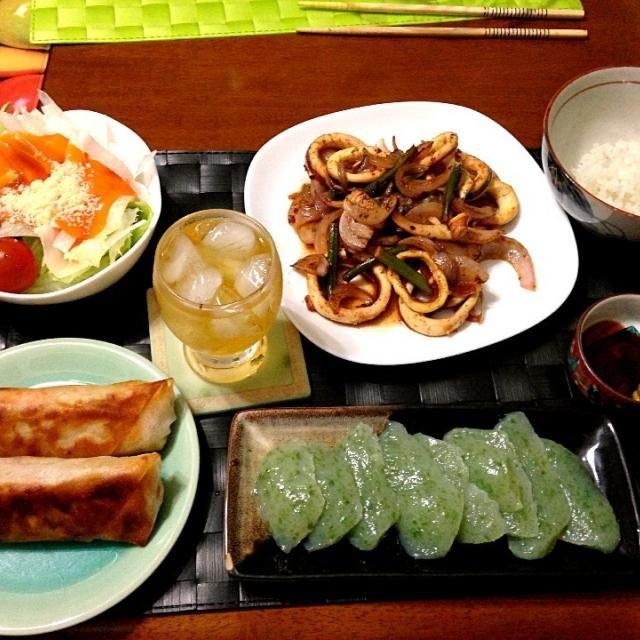 昨晩の家ご飯 - 32件のもぐもぐ - ルンピア ン グライ【フィリピン風野菜春巻き】 by manilalaki