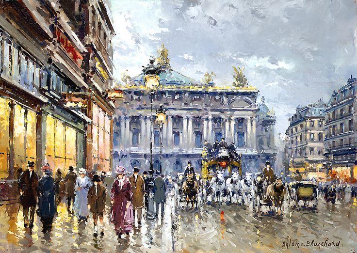Antoine Blanchard Avenue de l'Opera
