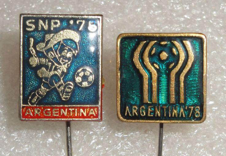 Argentina 78 FIFA Football World Cup 1978 Soccer logo Mascot Gauchito pin badges | Collectibles, Pinbacks, Bobbles, Lunchboxes, Pinbacks | eBay!