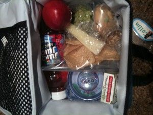 Kate Gosselin Packed lunch box