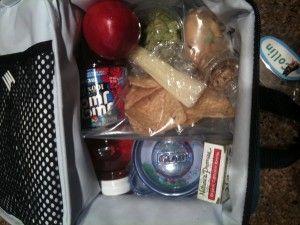 Kate Gosselin Packed lunch box