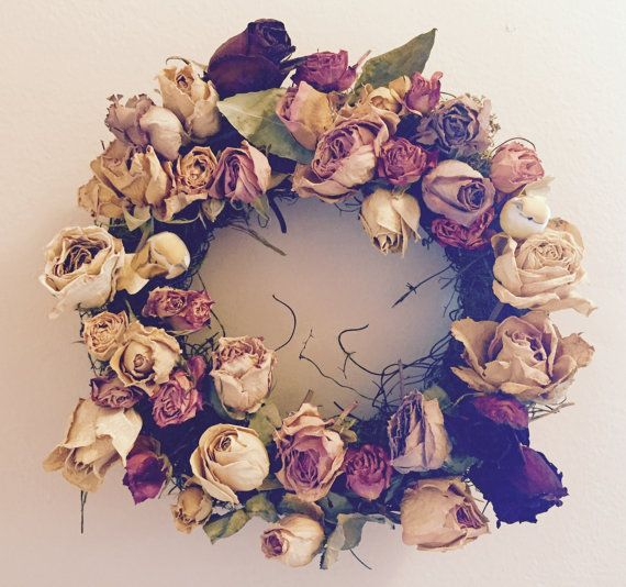 Rose Wreath by Made4ubyCassandra on Etsy