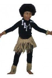Afrikalı Kostümü Çocuk, Erkek Çocuk Kostümleri, Ülke Kostümleri,Erkek Çocuk Ülke Kostümleri,