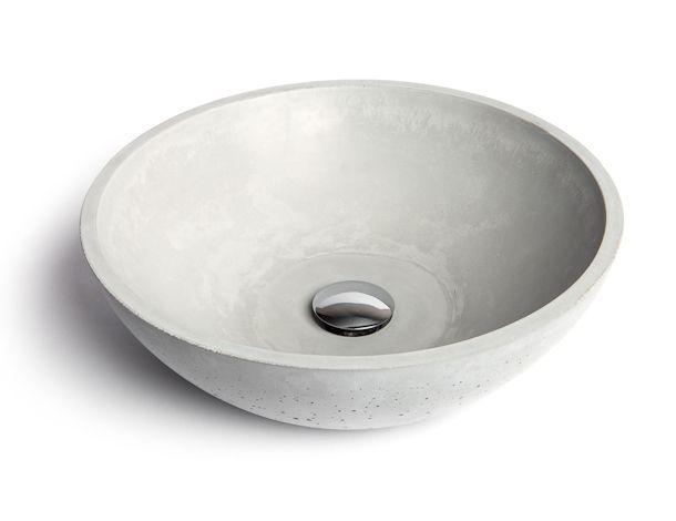 Countertop Washbasin / Round / Concrete / Contemporary   CIRCUM 40   Urbi  Et Orbi