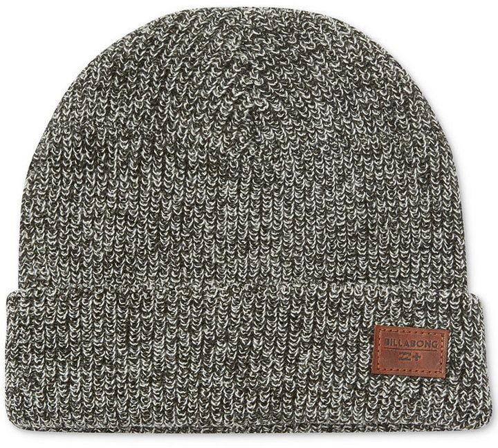 Billabong Men's Broke Marled Knit Beanie