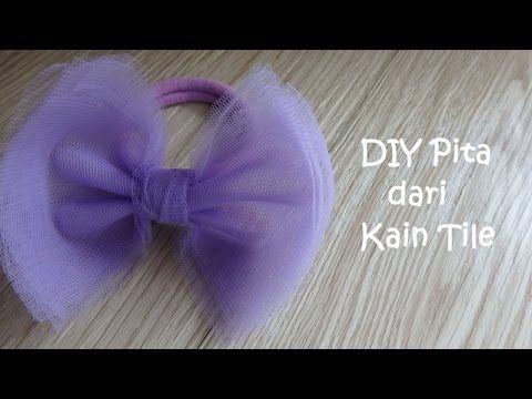 [Tema Oktober - Serba Pita] Tutorial Pita Rambut dari Kain Tile