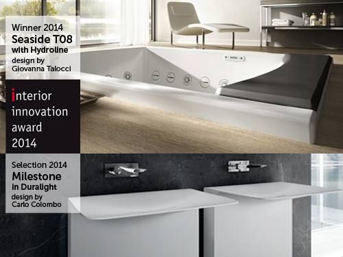 This year #Teuco wins two Interior Innovation Awards.