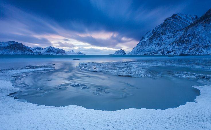 "Genie in the Sky - Haukland, Lofoten Islands, Norway February 2015 ------------------------  ----ALWAYS CLICK ""M"" TO OPEN BIGGER VERSION----"