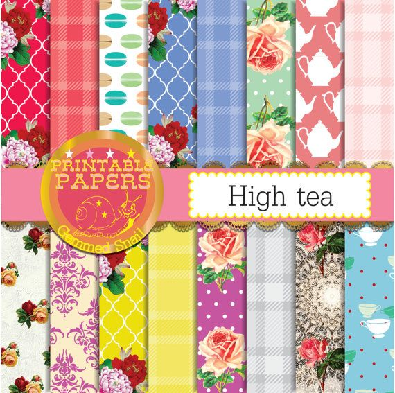 Garden Party – Freebie Paper Pack of the Day