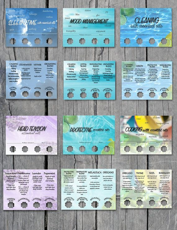 This is a great addition to increase your business with Doterra. These cards include information on how to use Doterra products to help with