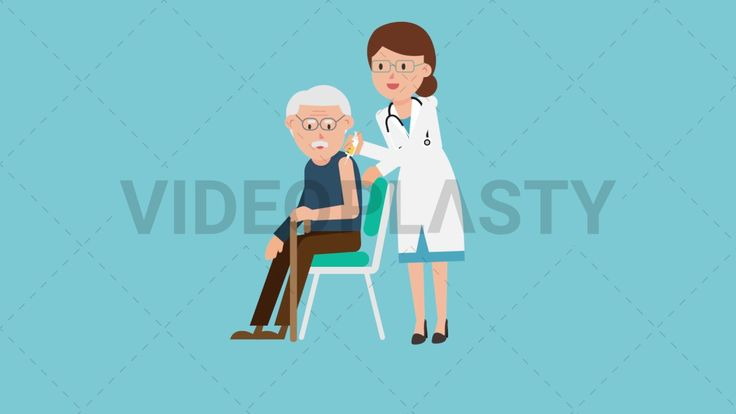 Download: http://ift.tt/2tyWv7S  A female doctor in a white coat with a stethoscope around her neck giving an injection to an old man in brown pants and blue sweater sitting on a chair  Two version are included: normal (with a start animation) and loopable. The normal version can be extended with the loopable version  Clip Length:10 seconds Loopable: Yes Alpha Channel: Yes Resolution:FullHD Format: Quicktime MOV  For more royalty free video assets visit: https://videoplasty.com