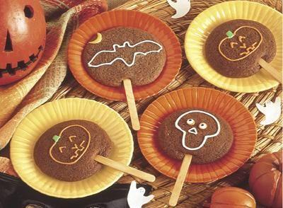 Halloween Cookies on a Stick- individually wrap these for classroom treats #hershey #halloweenHoliday, Hershey Cocoa, Brown Sugar, Halloween Recipe, Food, Sticks Recipe, Hershey Recipe, Hershey Halloween, Halloween Cookies