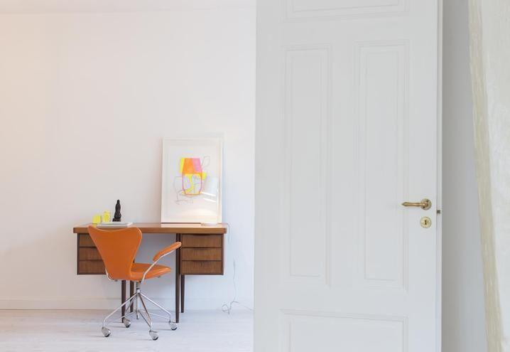 Stile minimale per un appartamento a Stoccolma