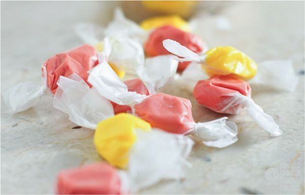 June is National Candy Month! Try this recipe for low sugar salt water taffy.